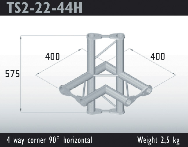 19 - TS2-22-44H - Dual Truss system